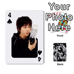 Suju Playing Cards By Mia Story   Playing Cards 54 Designs   W8tp8dk6qnxd   Www Artscow Com Front - Spade4