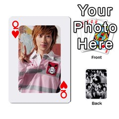 Queen Suju Playing Cards By Mia Story   Playing Cards 54 Designs   W8tp8dk6qnxd   Www Artscow Com Front - HeartQ