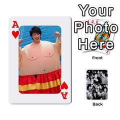 Ace Suju Playing Cards By Mia Story   Playing Cards 54 Designs   W8tp8dk6qnxd   Www Artscow Com Front - HeartA