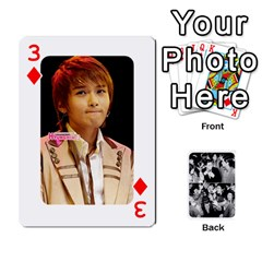 Suju Playing Cards By Mia Story   Playing Cards 54 Designs   W8tp8dk6qnxd   Www Artscow Com Front - Diamond3