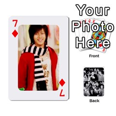 Suju Playing Cards By Mia Story   Playing Cards 54 Designs   W8tp8dk6qnxd   Www Artscow Com Front - Diamond7