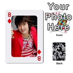 Suju Playing Cards By Mia Story   Playing Cards 54 Designs   W8tp8dk6qnxd   Www Artscow Com Front - Diamond8