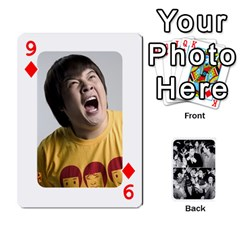 Suju Playing Cards By Mia Story   Playing Cards 54 Designs   W8tp8dk6qnxd   Www Artscow Com Front - Diamond9