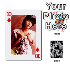 Suju Playing Cards By Mia Story   Playing Cards 54 Designs   W8tp8dk6qnxd   Www Artscow Com Front - Diamond10