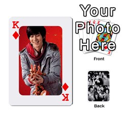King Suju Playing Cards By Mia Story   Playing Cards 54 Designs   W8tp8dk6qnxd   Www Artscow Com Front - DiamondK