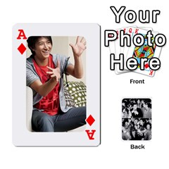 Ace Suju Playing Cards By Mia Story   Playing Cards 54 Designs   W8tp8dk6qnxd   Www Artscow Com Front - DiamondA