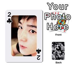 Suju Playing Cards By Mia Story   Playing Cards 54 Designs   W8tp8dk6qnxd   Www Artscow Com Front - Club2