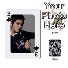 Suju Playing Cards By Mia Story   Playing Cards 54 Designs   W8tp8dk6qnxd   Www Artscow Com Front - Club3