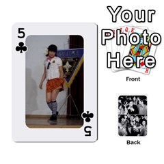 Suju Playing Cards By Mia Story   Playing Cards 54 Designs   W8tp8dk6qnxd   Www Artscow Com Front - Club5