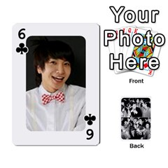 Suju Playing Cards By Mia Story   Playing Cards 54 Designs   W8tp8dk6qnxd   Www Artscow Com Front - Club6