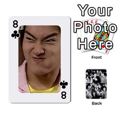 Suju Playing Cards By Mia Story   Playing Cards 54 Designs   W8tp8dk6qnxd   Www Artscow Com Front - Club8