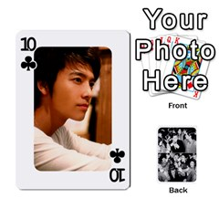 Suju Playing Cards By Mia Story   Playing Cards 54 Designs   W8tp8dk6qnxd   Www Artscow Com Front - Club10