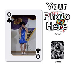 Queen Suju Playing Cards By Mia Story   Playing Cards 54 Designs   W8tp8dk6qnxd   Www Artscow Com Front - ClubQ