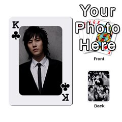 King Suju Playing Cards By Mia Story   Playing Cards 54 Designs   W8tp8dk6qnxd   Www Artscow Com Front - ClubK