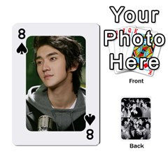 Suju Playing Cards By Mia Story   Playing Cards 54 Designs   W8tp8dk6qnxd   Www Artscow Com Front - Spade8