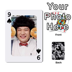 Suju Playing Cards By Mia Story   Playing Cards 54 Designs   W8tp8dk6qnxd   Www Artscow Com Front - Spade9