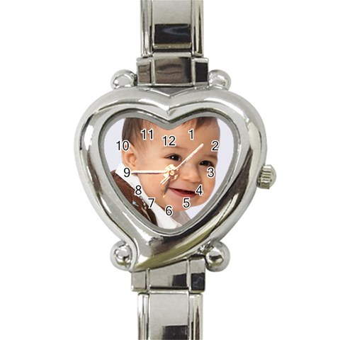 David Watch  By Denise   Heart Italian Charm Watch   Mbj60ll018qi   Www Artscow Com Front