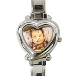 asiwatch - Heart Italian Charm Watch
