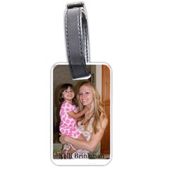 Kelli Luggage Tag By Kelli   Luggage Tag (two Sides)   Uia0di3207nx   Www Artscow Com Front