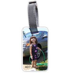 Kelli Luggage Tag By Kelli   Luggage Tag (two Sides)   Uia0di3207nx   Www Artscow Com Back