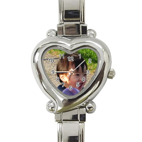 Ball Watch By Momfong   Heart Italian Charm Watch   J49qi7w5ihmc   Www Artscow Com Front