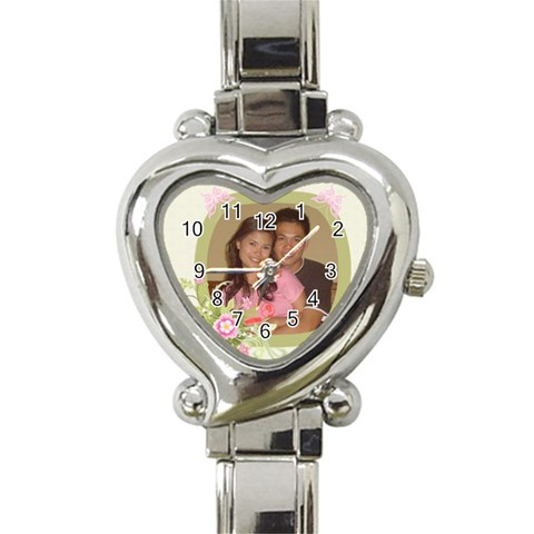 Watch By Genefaith   Heart Italian Charm Watch   G7dftaqhi14z   Www Artscow Com Front