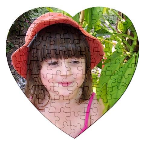 Annakah By Belinda Geissler   Jigsaw Puzzle (heart)   67qdsn0bku0w   Www Artscow Com Front