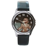 metal round watch - Round Metal Watch