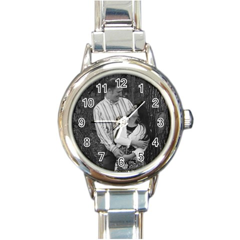 Genebei Hook Me Here By Noemi   Round Italian Charm Watch   5gxgjzr6x3v7   Www Artscow Com Front