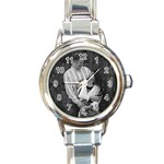 Genebei hook me here - Round Italian Charm Watch