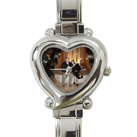 My Personalized Italian Watch! By Willa Stock   Heart Italian Charm Watch   Ascf7yjq88al   Www Artscow Com Front