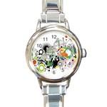 My new watch - Round Italian Charm Watch