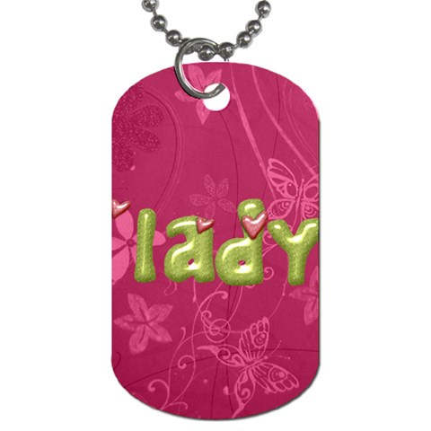 By Lily Hamilton   Dog Tag (one Side)   Wpxweveczvn6   Www Artscow Com Front