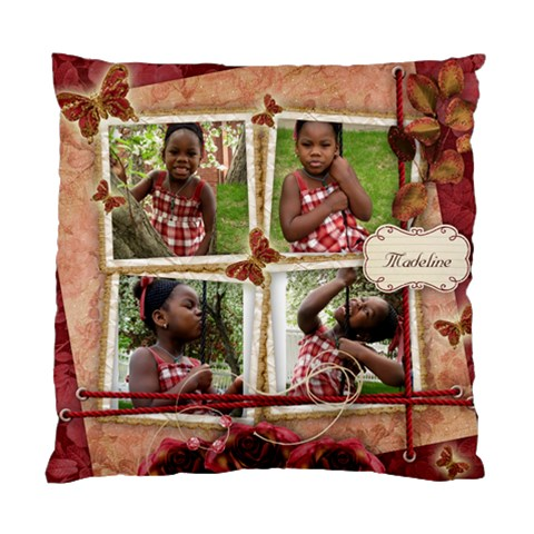 Madeline Pillow By Naomi Thompson   Standard Cushion Case (one Side)   Kj3akmd6afxj   Www Artscow Com Front