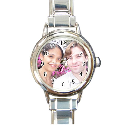 My New Watch By Medsmon   Round Italian Charm Watch   4sizb7korl46   Www Artscow Com Front