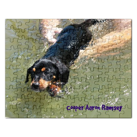 Cooper Aaron By Alisa Ramsey   Jigsaw Puzzle (rectangular)   Epoyf2apv5d4   Www Artscow Com Front