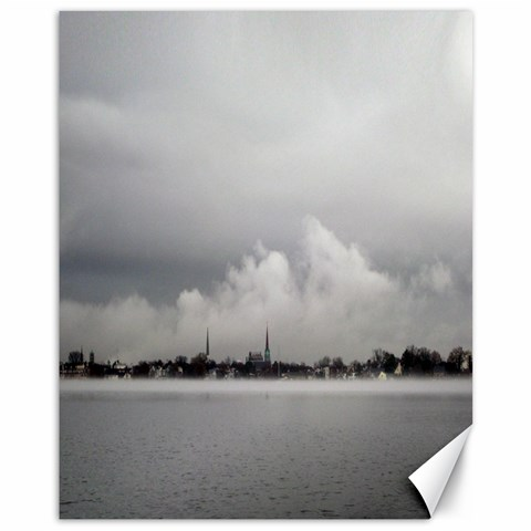 Portsmouth Fog by Alana 14 x11 Canvas - 1