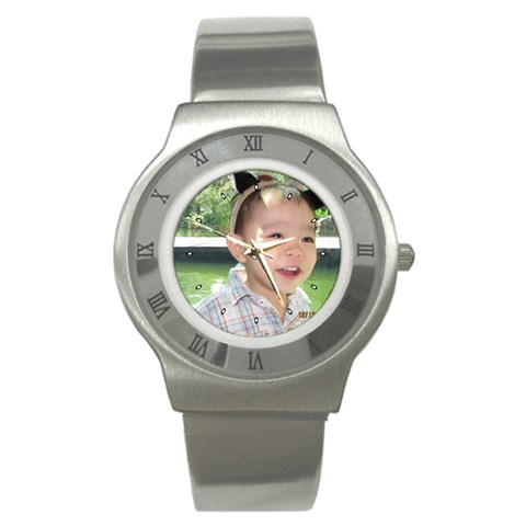 Personalised Watch With Zane! By Dina   Stainless Steel Watch   Tg6c07kn31nq   Www Artscow Com Front
