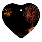 fireworks-color Ornament (Heart)
