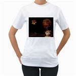 fireworks-color Women s T-Shirt