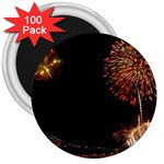 fireworks-color 3  Magnet (100 pack)