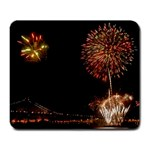 fireworks-color Large Mousepad