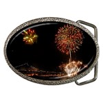 fireworks-color Belt Buckle