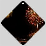 fireworks-color Car Window Sign