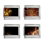 fireworks-color 9mm Italian Charm (4 pack)