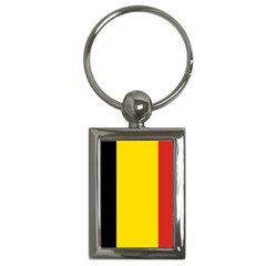 20051125122737!Flag_of_Belgium Key Chain (Rectangle) from ArtsNow.com Front