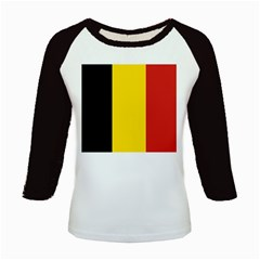 20051125122737!Flag_of_Belgium Kids Baseball Jersey by marinasartshop