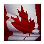 canadian-flag Tile Coaster