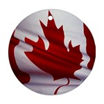 canadian-flag Ornament (Round)