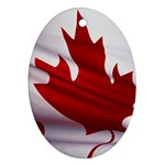 canadian-flag Ornament (Oval)